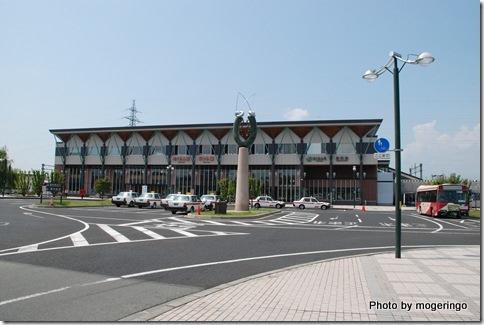 さくらんぼ東根駅 ロータリー