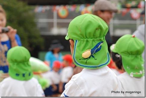 ヘラクレスオオカブトの帽子