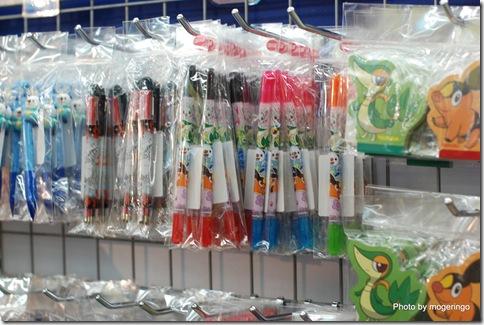 ボールペンなどの文具も一杯