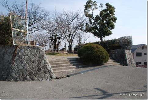 山陽新幹線記念公園の入り口
