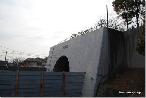 六甲トンネルの入り口
