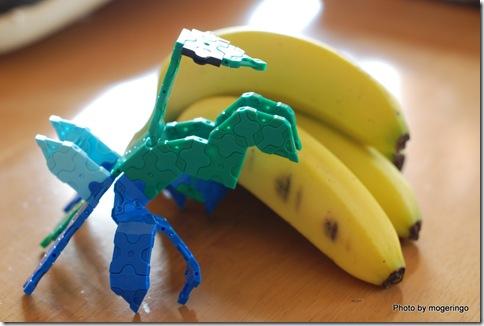 カマキリとバナナ